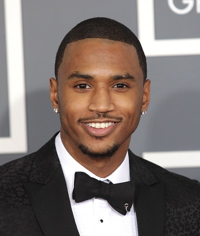 LOS ANGELES - FEB 10:  Trey Songz arrives to the Grammy Awards 2